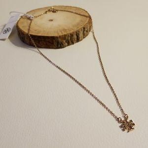 Tory Burch delicate logo short necklace LAST